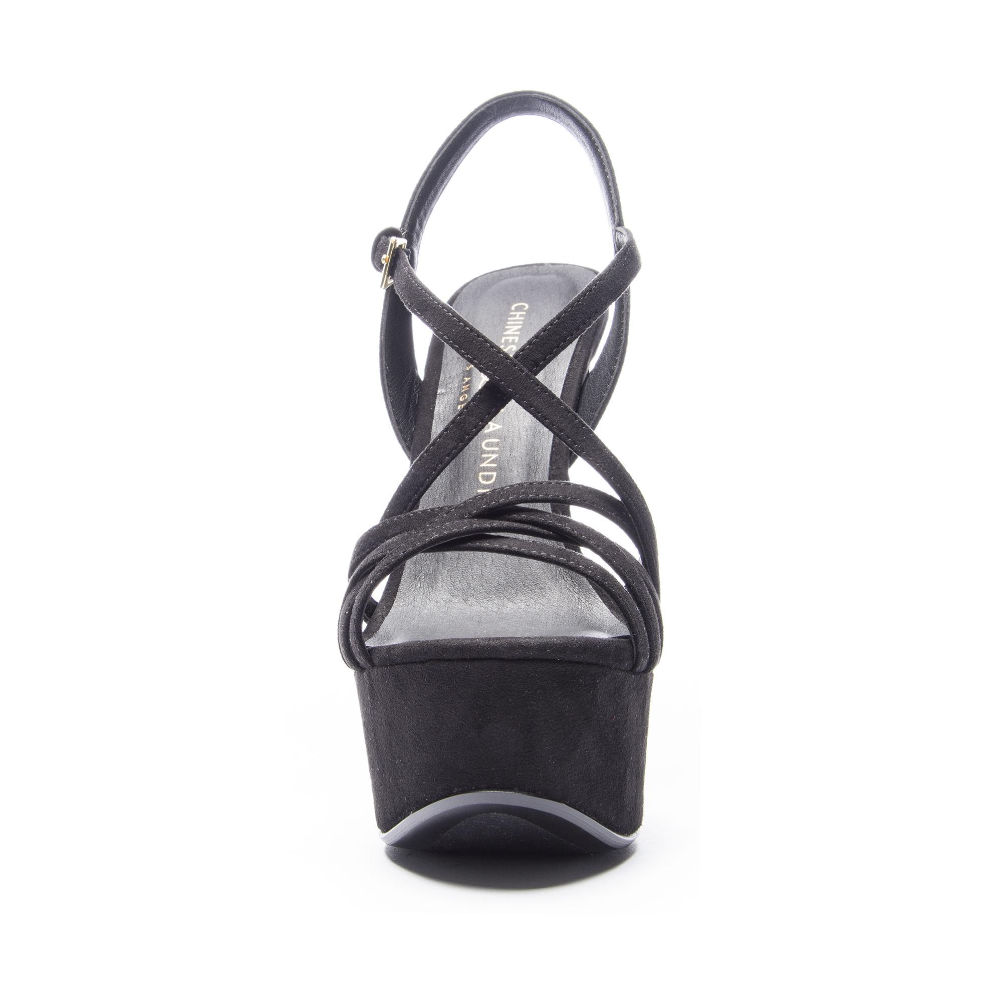 a0bc61991d0 Lyst - Chinese Laundry Teaser2 Platform Sandal in Black