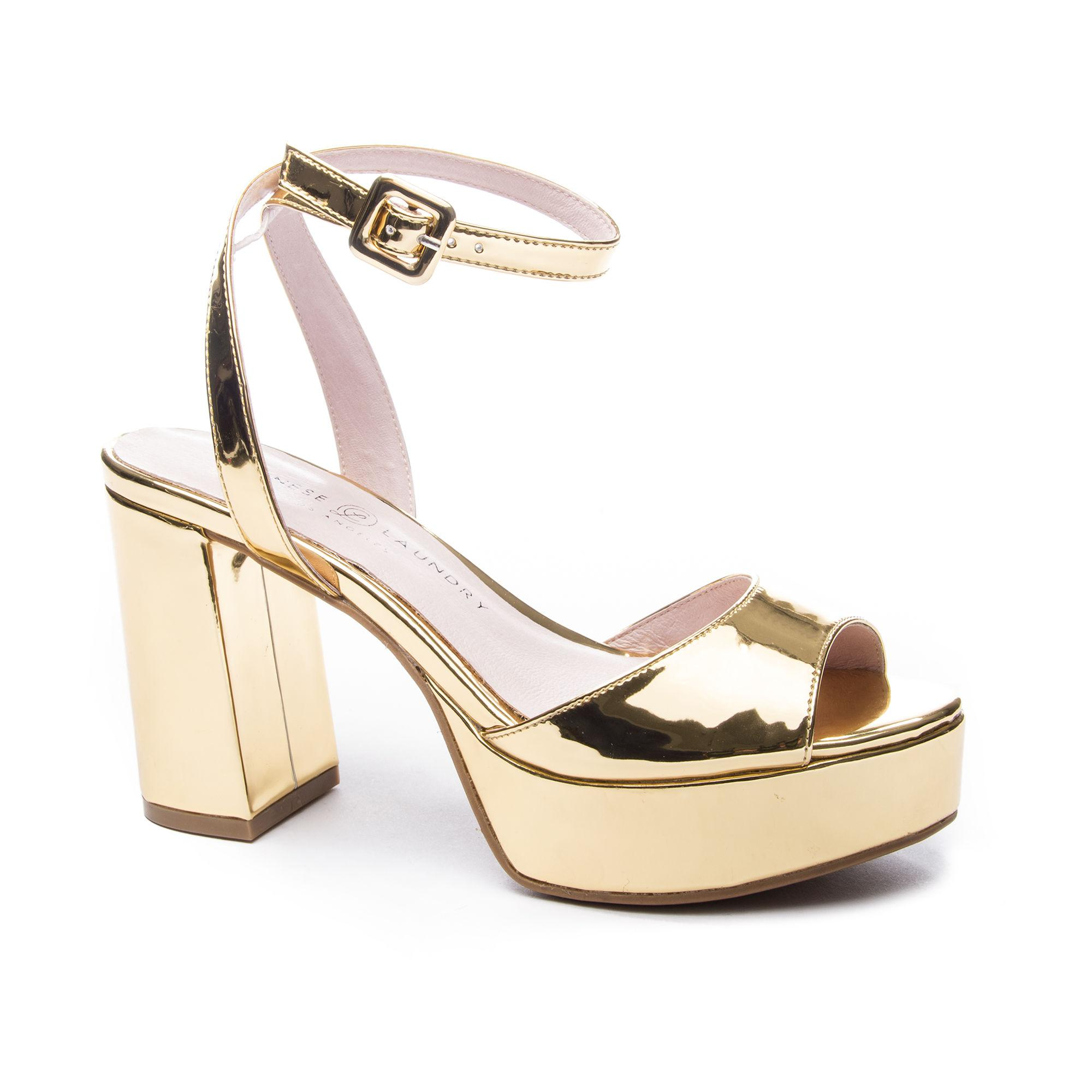 31fe0ad1a2e Lyst - Chinese Laundry Theresa Platform Sandal in Metallic