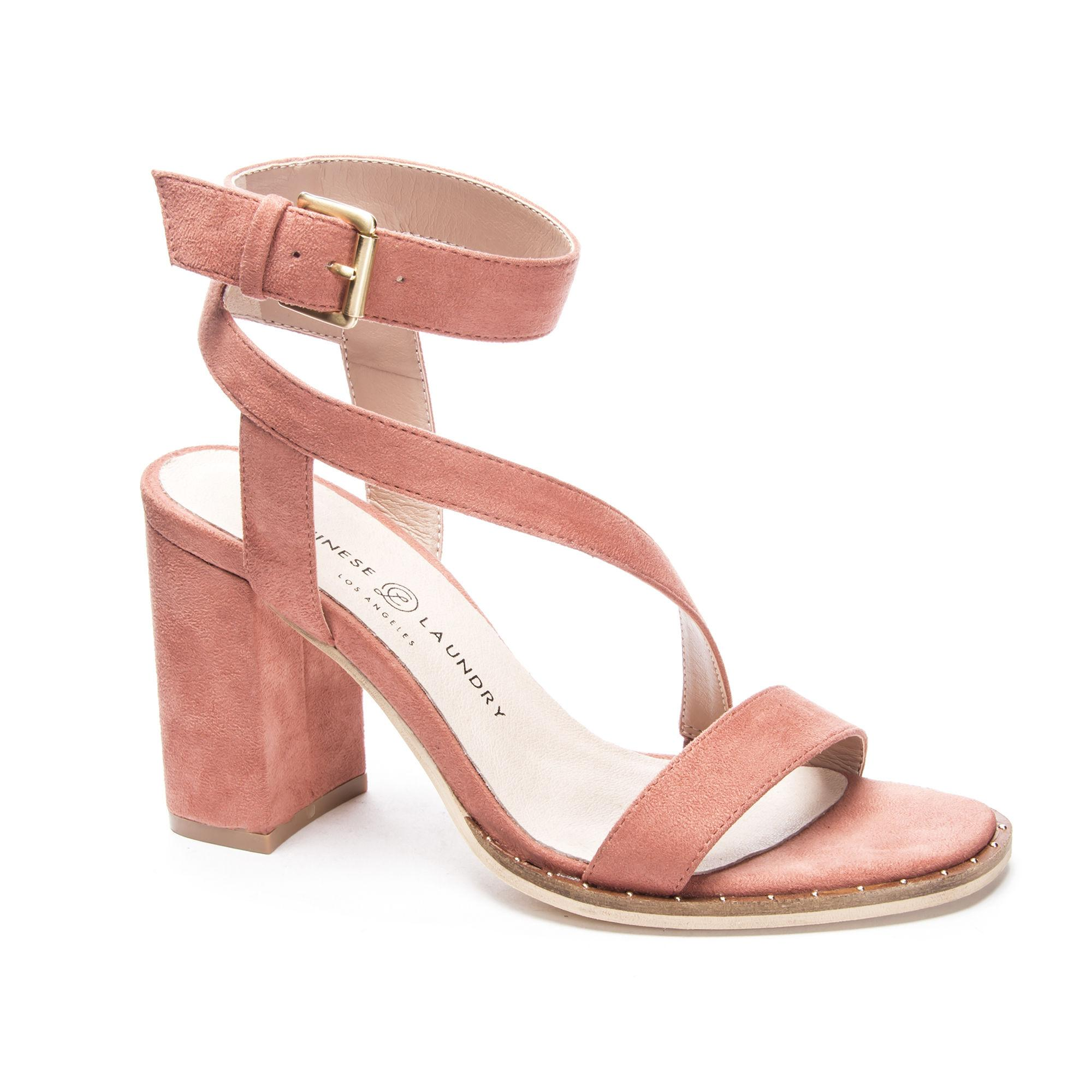 a2fc5a26362 Lyst - Chinese Laundry Simi Block Heel Sandal in Pink