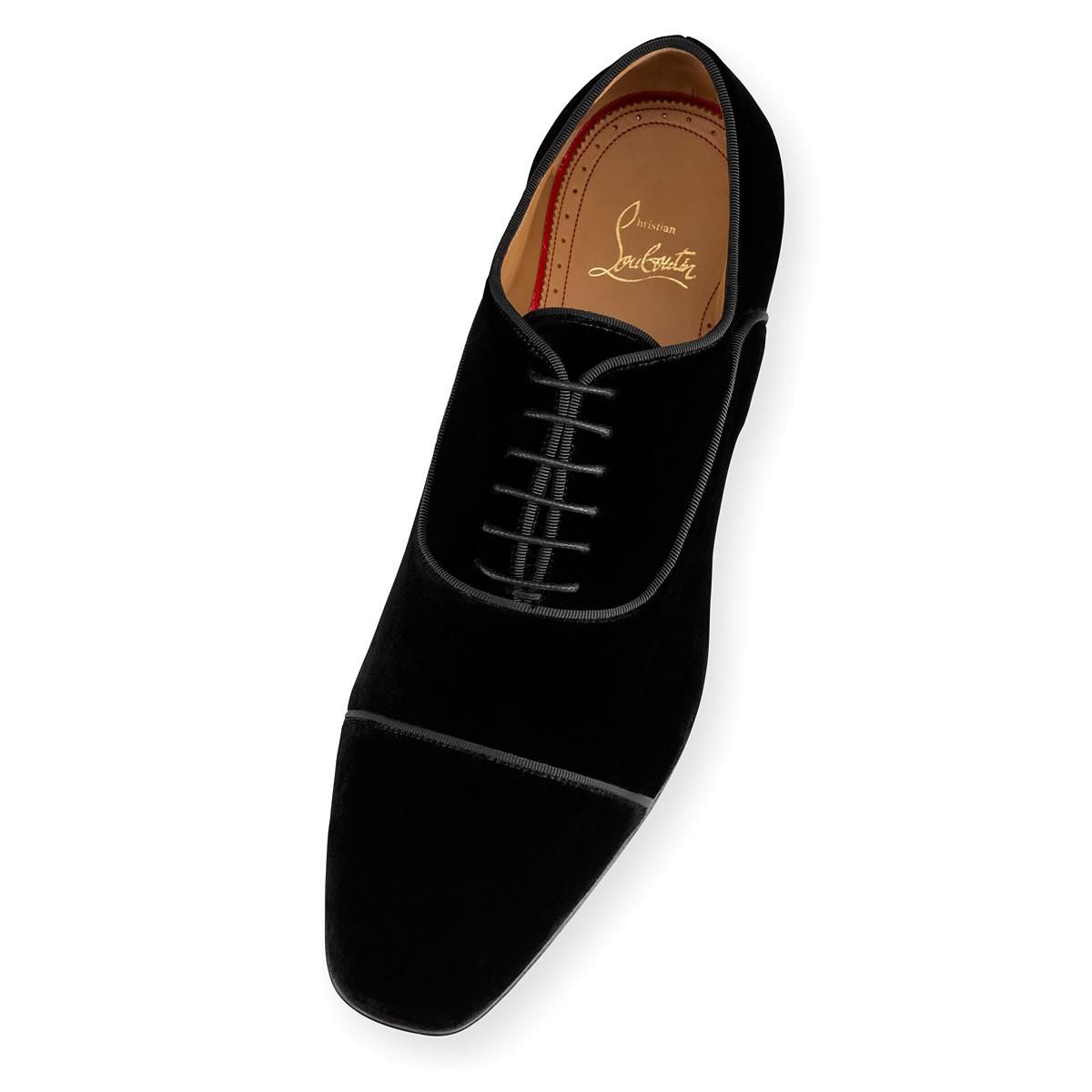 8213cab0810a ... promo code lyst christian louboutin lord cubano flat in black for men  fb61a e9183
