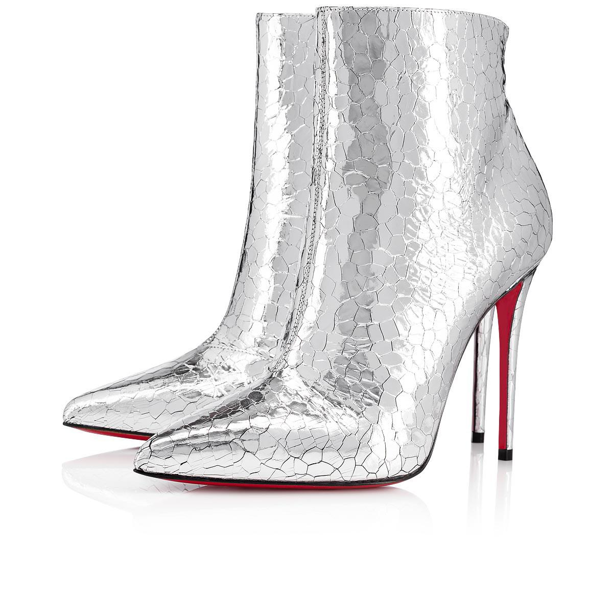 ab228878214 Christian Louboutin. Women s Metallic So Kate Booty Specchio Martele 100 ...