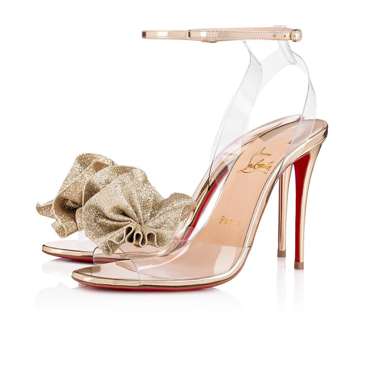 3ed4ed00deb Christian Louboutin Fossiliza Glitter Tonic pvc 100 Version Light ...