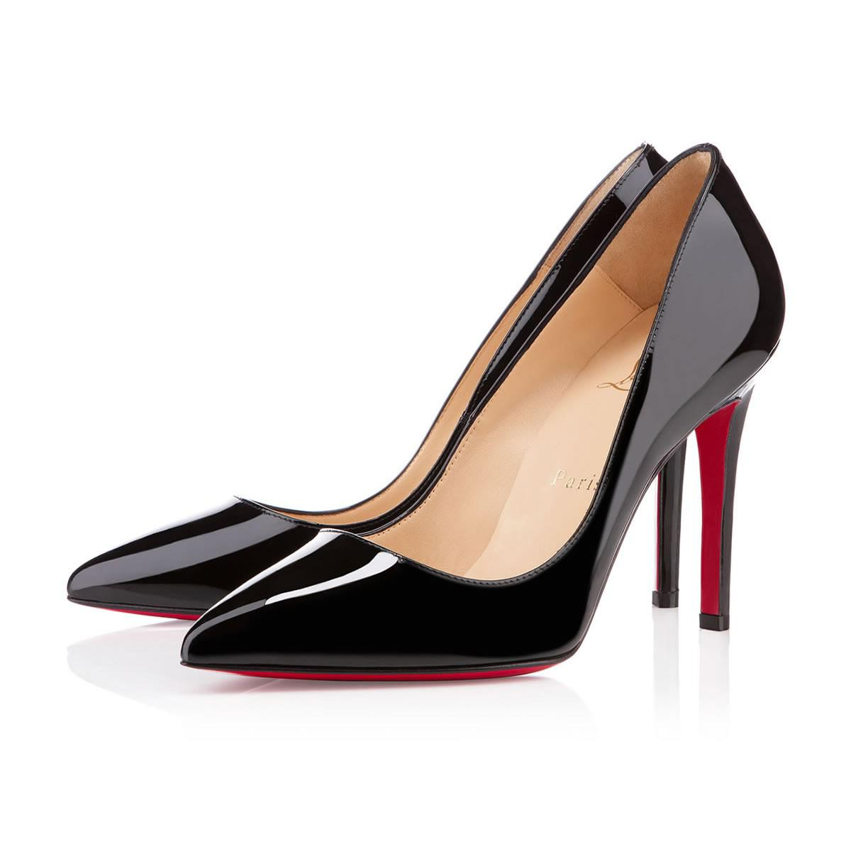 d926f6f278ea Christian Louboutin Pigalle Patent in Black - Lyst