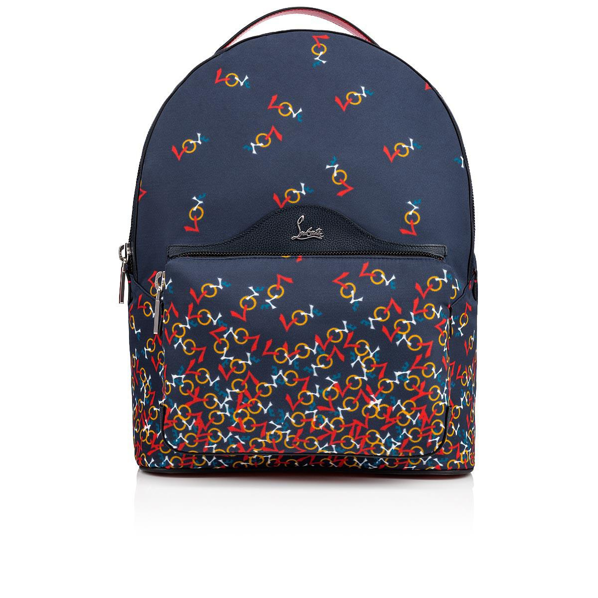 afaf46b7eec Christian Louboutin Backloubi Backpack Blue And Multicolor Nylon in ...