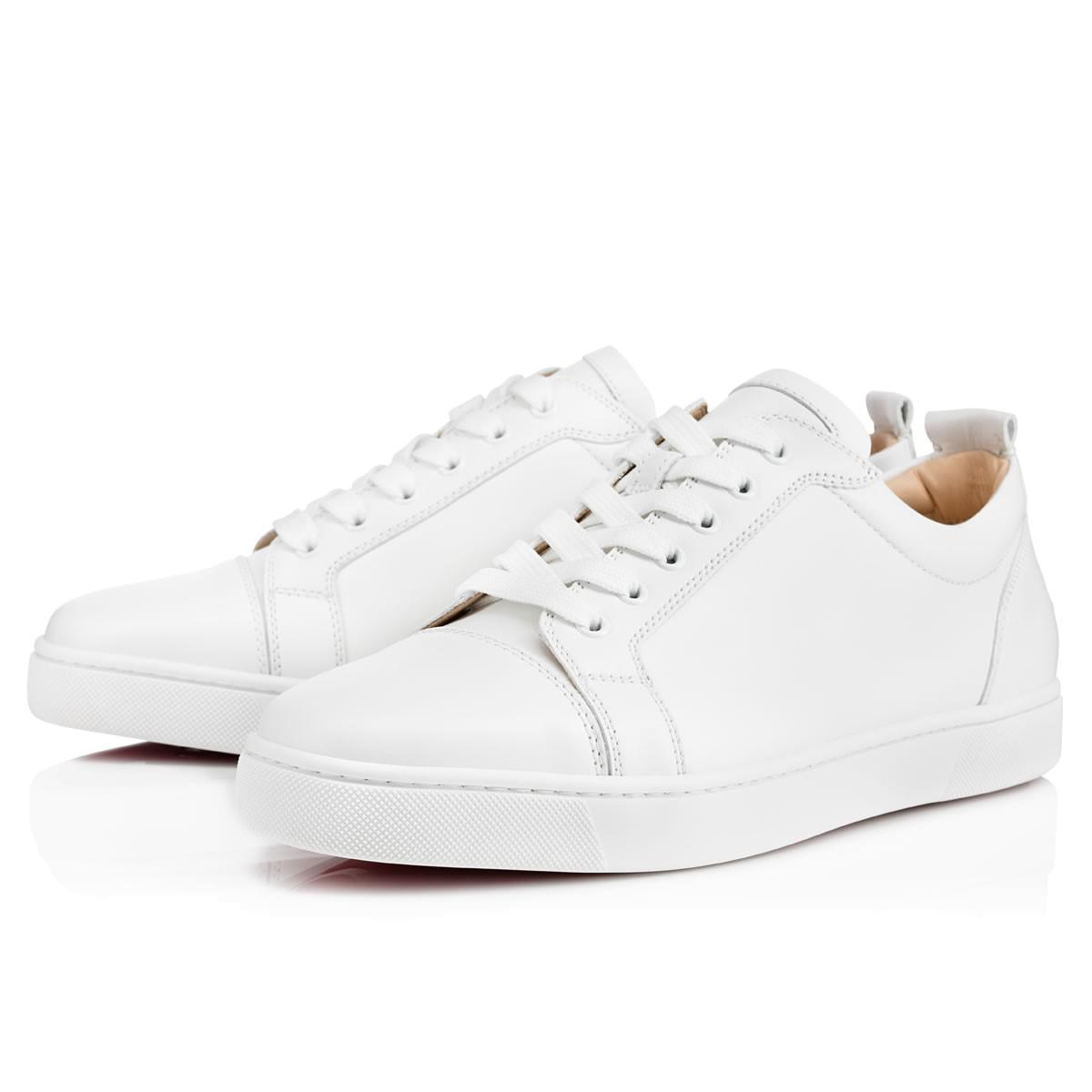 482a2d702646 Lyst - Christian Louboutin Louis Junior Leather Low-Top Sneakers in ...