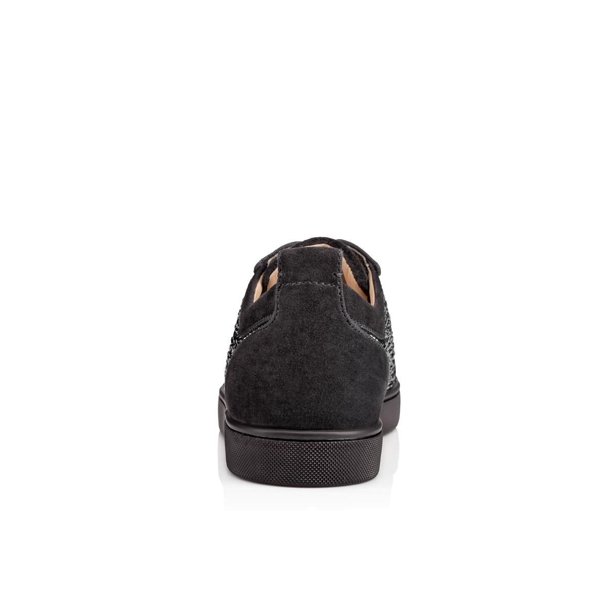 37f06520ac4a Lyst - Christian Louboutin Louis Junior Strass Men s Flat in Black ...