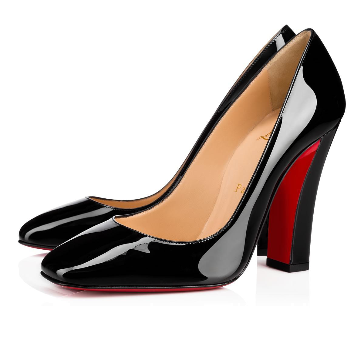 161f2984a089 Lyst - Christian Louboutin Viva Pump in Black