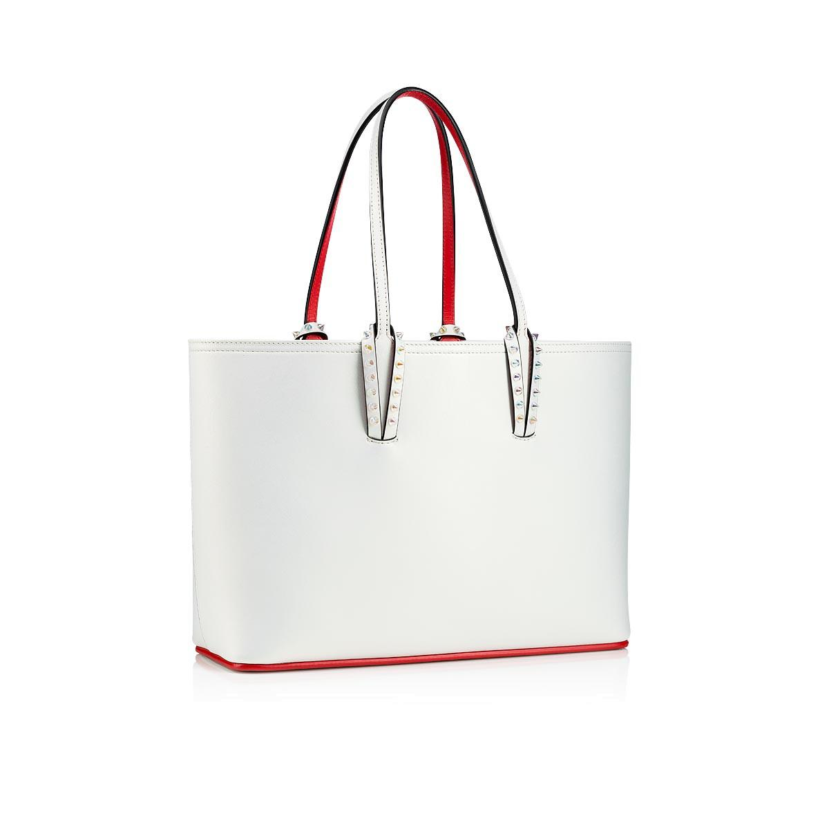 Christian Louboutin - White Cabata Small Tote Bag - Lyst. View fullscreen a3906705c5ed5
