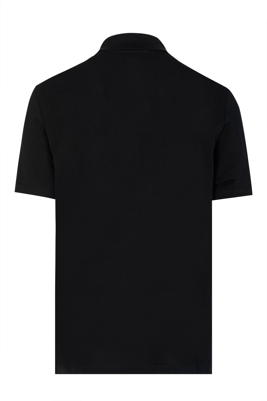 8be191ec Versace - Black Versus Tape Logo Polo Shirt for Men - Lyst. View fullscreen