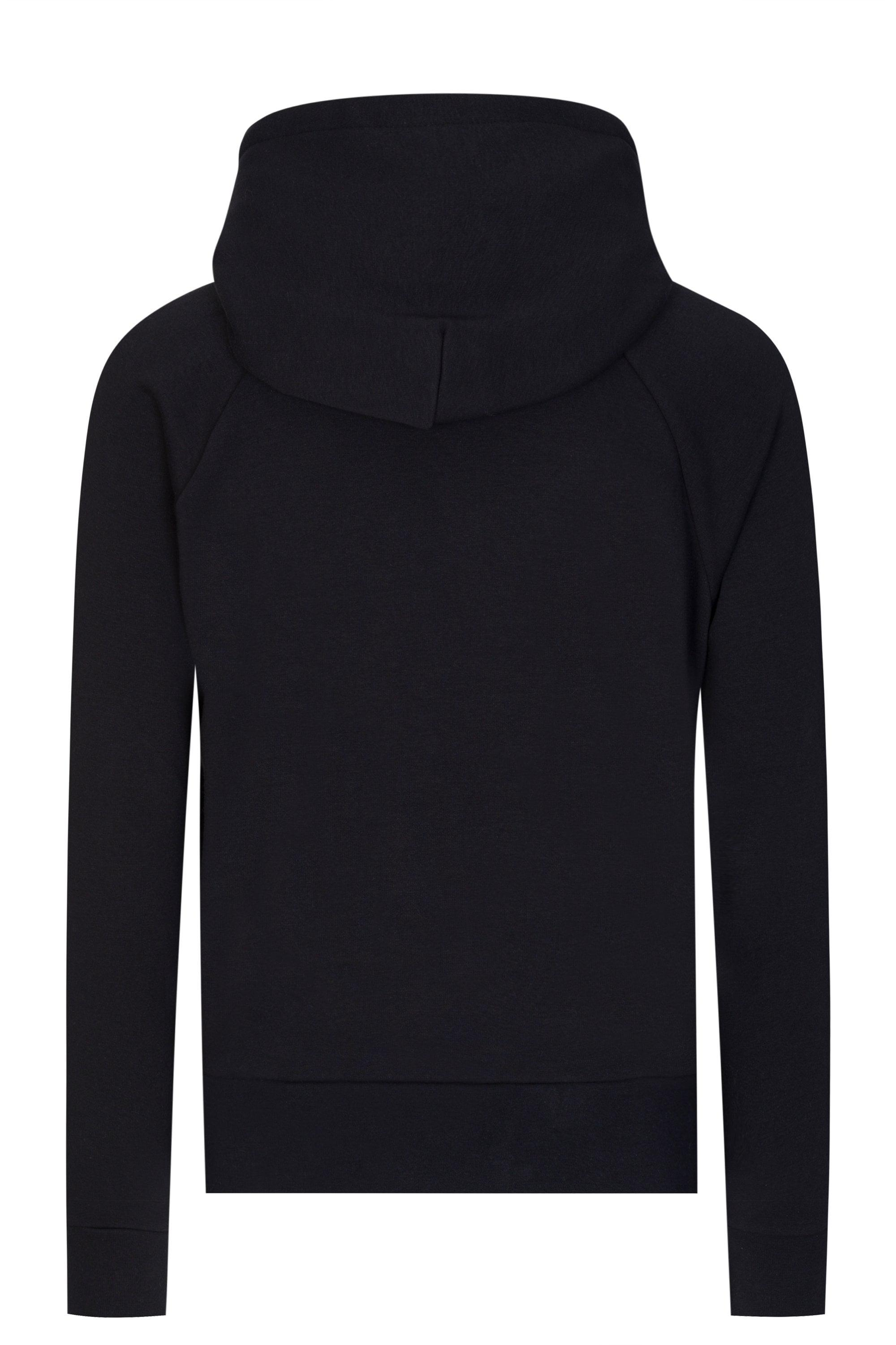 ad389c2e3539 Moncler Grenoble Oversized Logo Hooded Sweatshirt in Black for Men ...