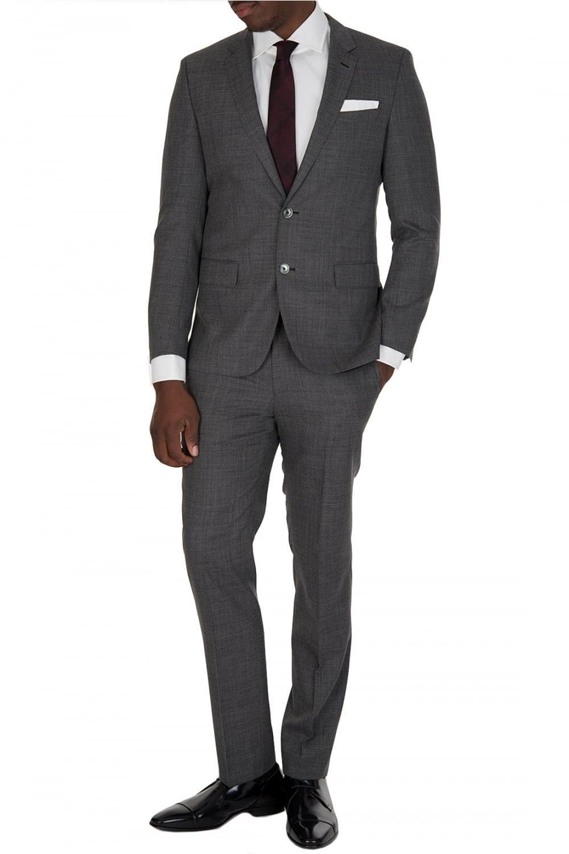89bf0dde BOSS Hugo Hutson2 Gander Suit Grey in Gray for Men - Lyst