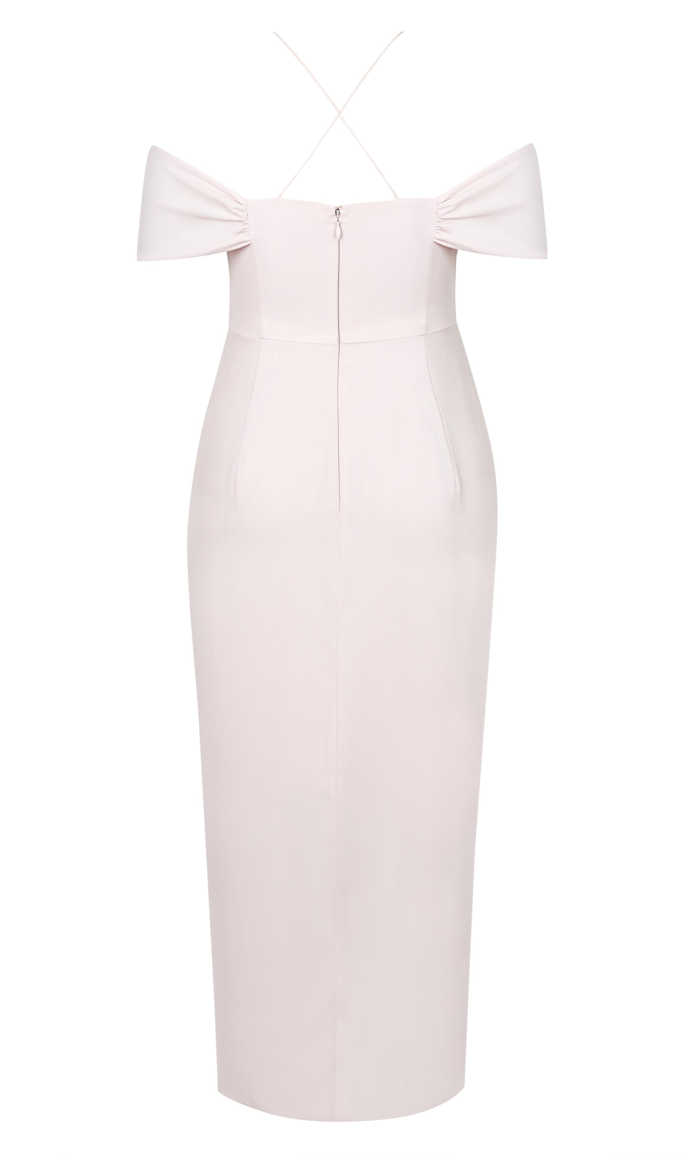 9df26399201a Lyst - City Chic Entwine Maxi Dress - Soft Blush in Pink - Save 30%