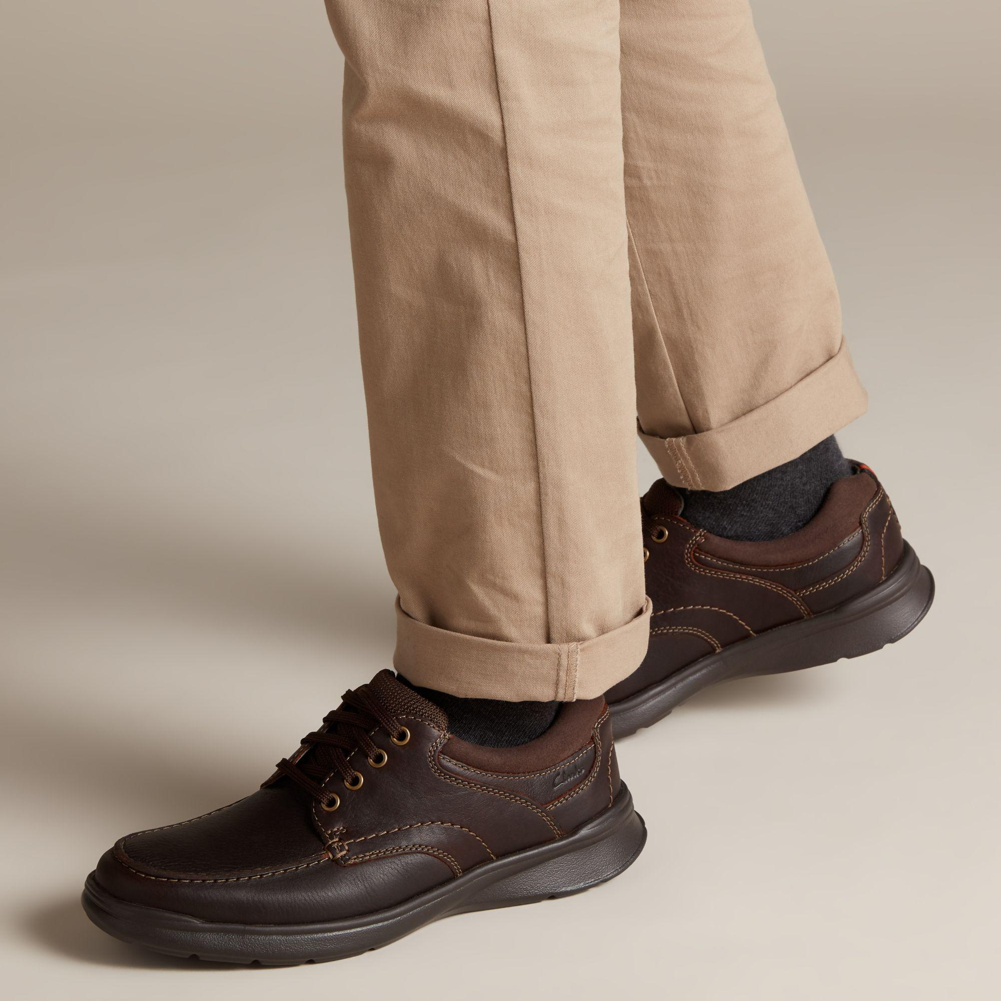 f87019adee50c Clarks - Brown Cotrell Edge Casual Oxford Shoes for Men - Lyst. View  fullscreen