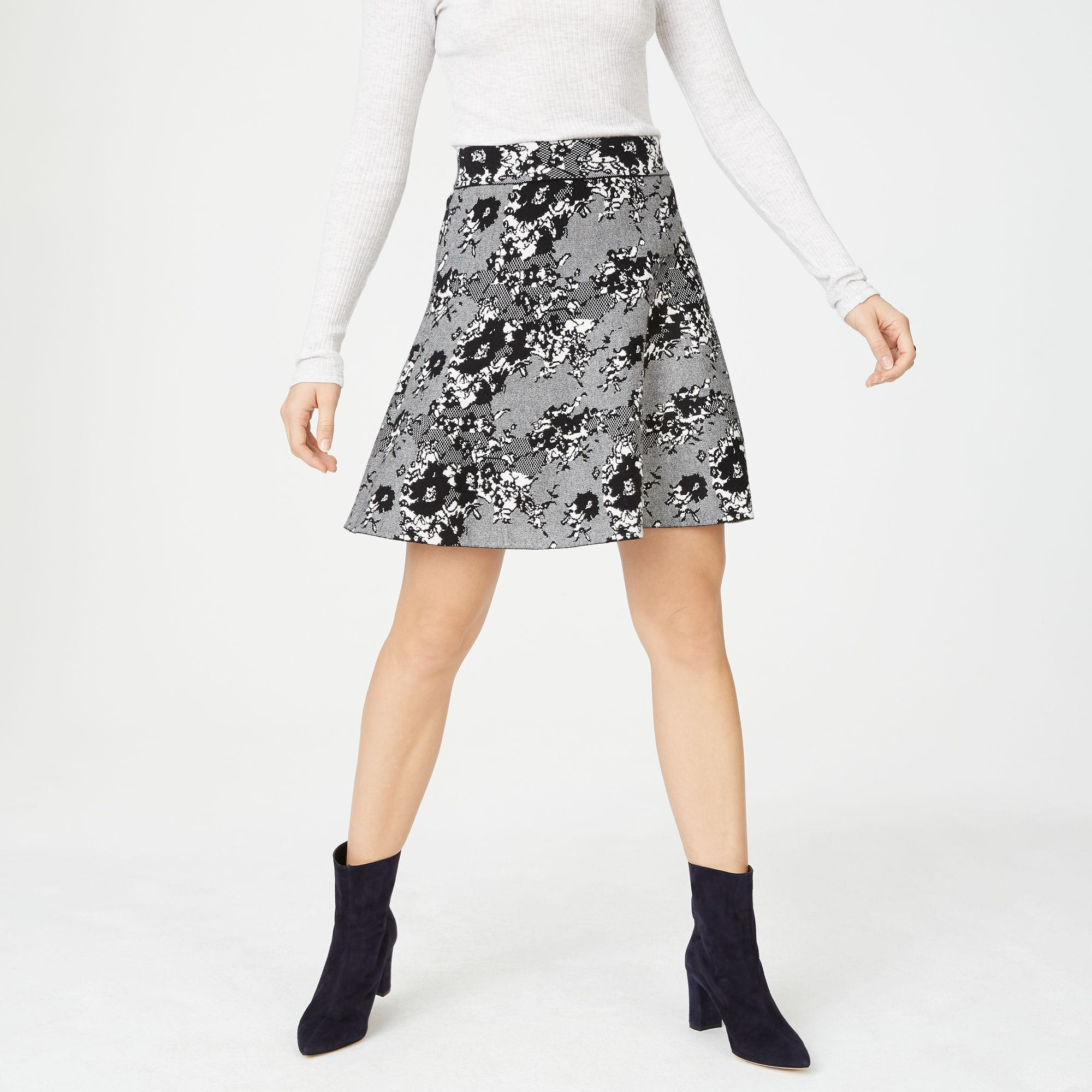 e45405db50 Lyst - Club Monaco Kessi Skirt in Black
