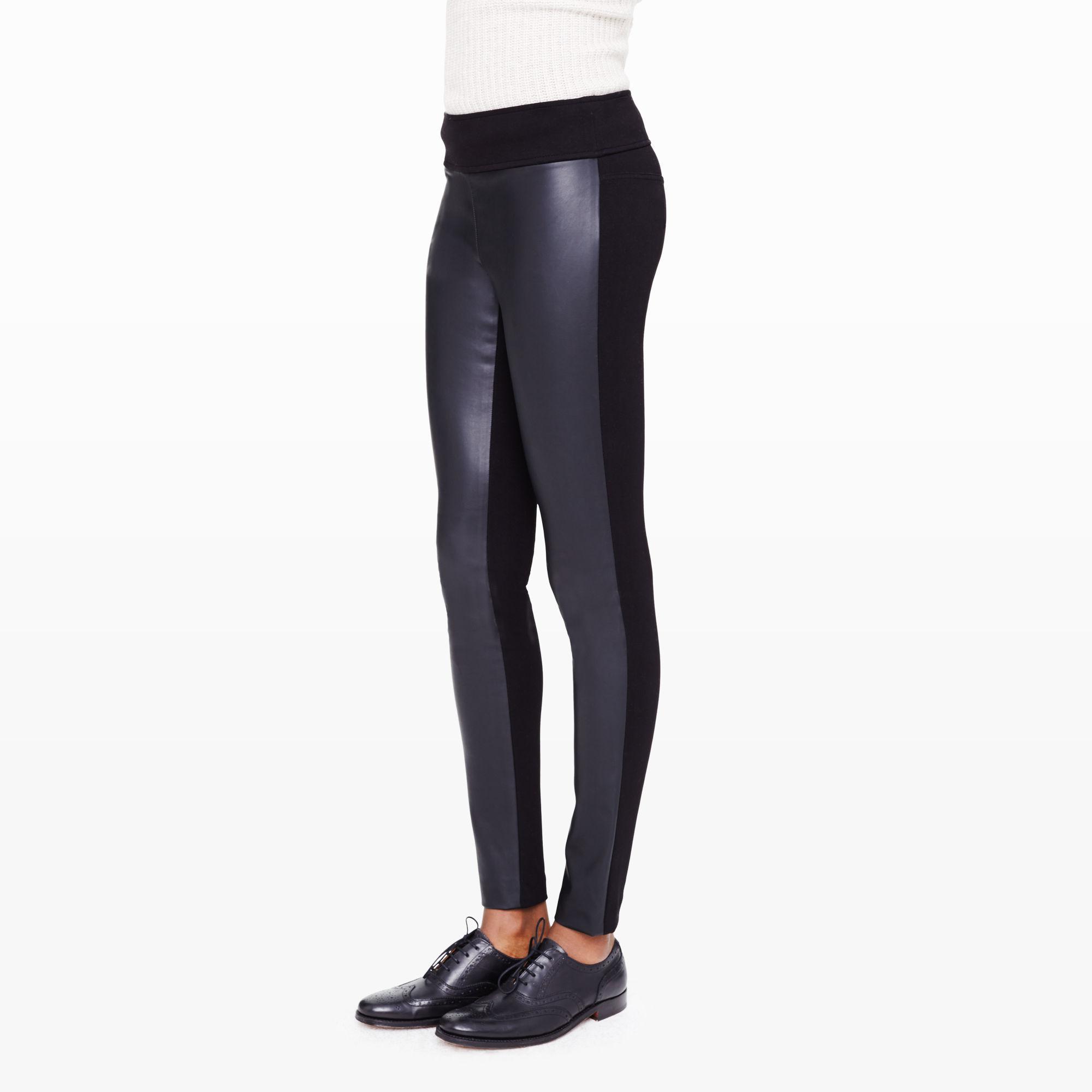 ab18e440e01eb Lyst - Club Monaco Tasha Legging in Black