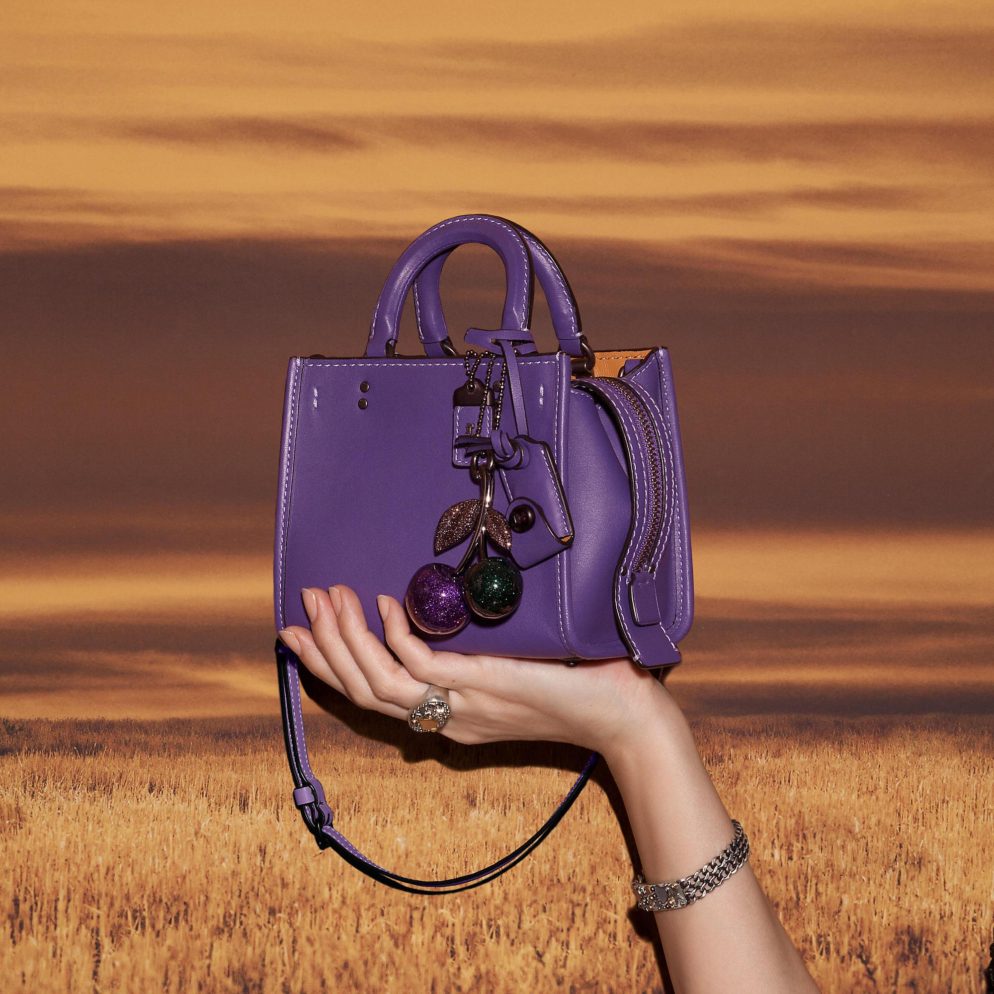 Lyst Coach Rogue 17 In Glovetanned Leather In Purple