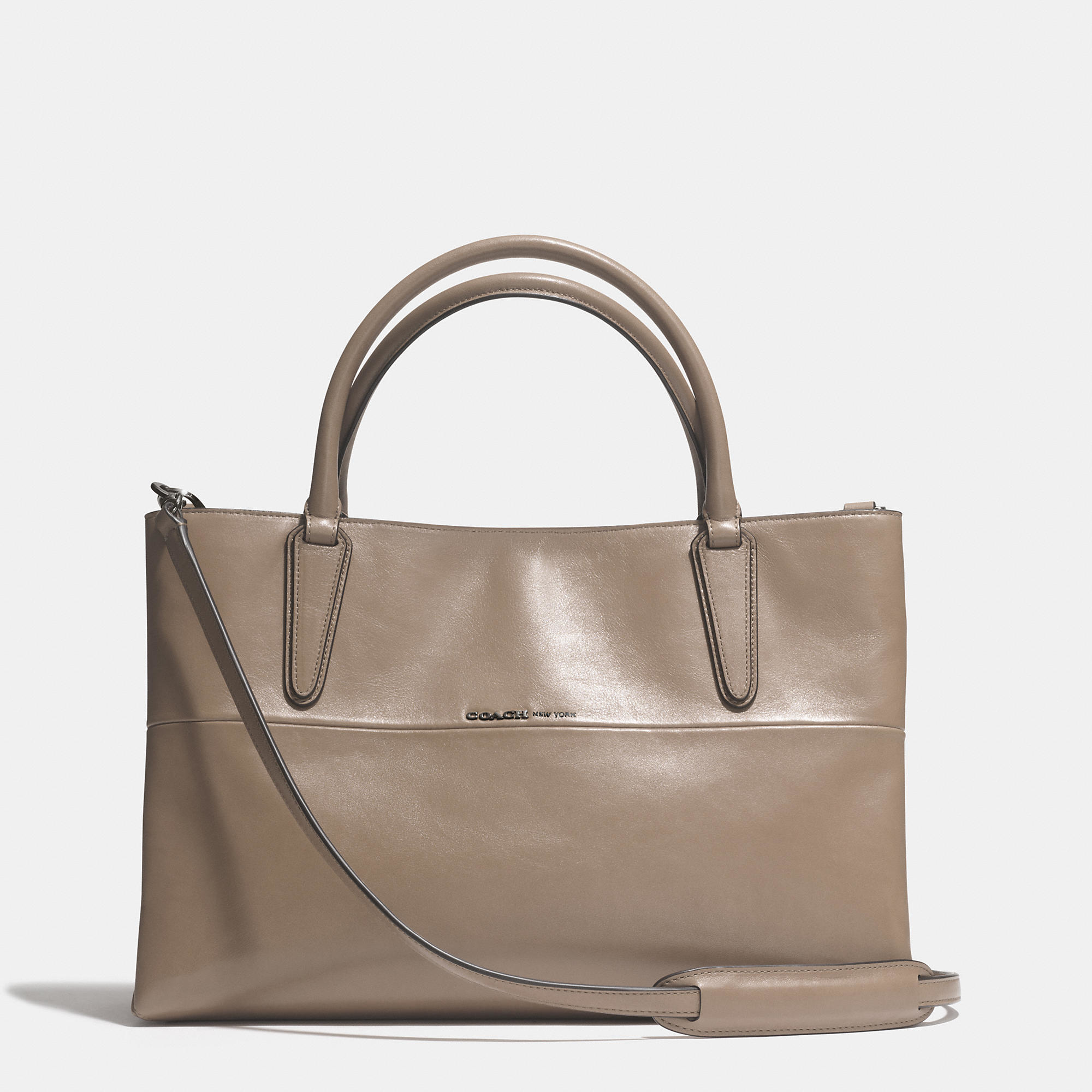 Coach Soft Borough Bag In Nappa Leather in Brown | Lyst