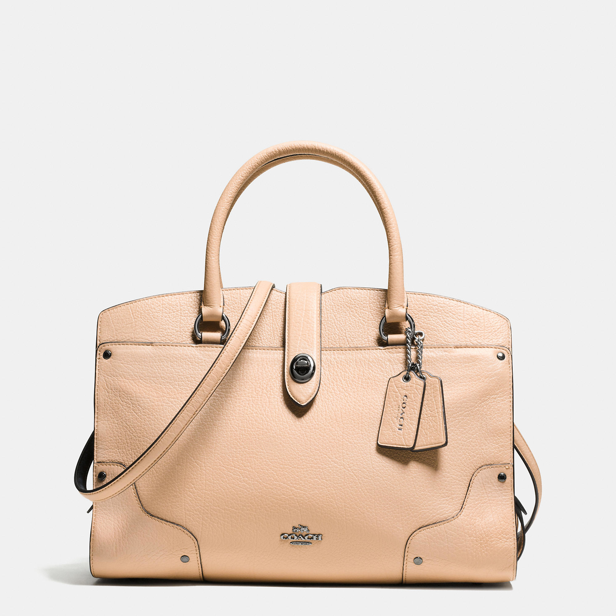 f5dbcf355 ... promo code for lyst coach mercer satchel 30 in colorblock leather b5487  04e5f