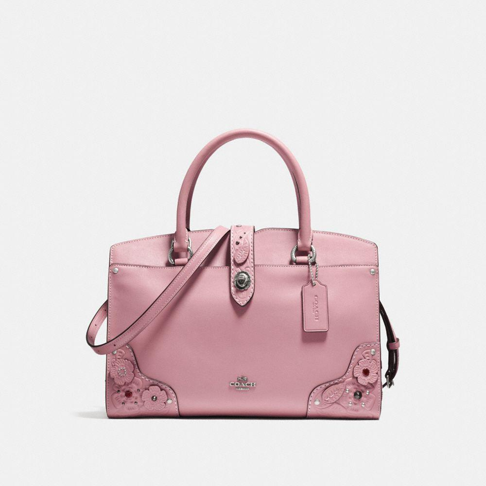 9ffa824d7f895 Coach Mercer Satchel 30 In Glovetanned Leather With Tea Rose And ...