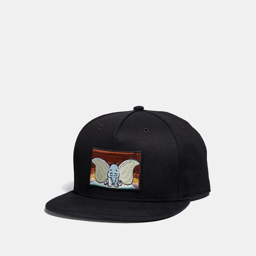 Lyst - COACH Disney X Dumbo Baseball Hat in Black for Men 1726ca64899f