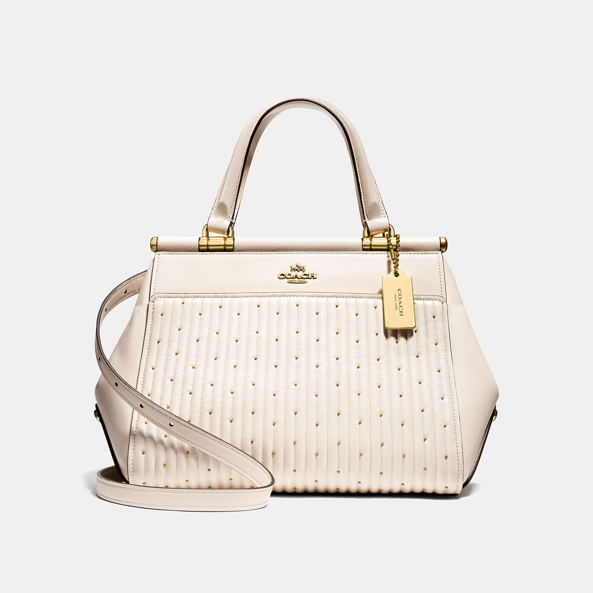 655e40179d65 Lyst - COACH Grace Bag With Quilting And Rivets