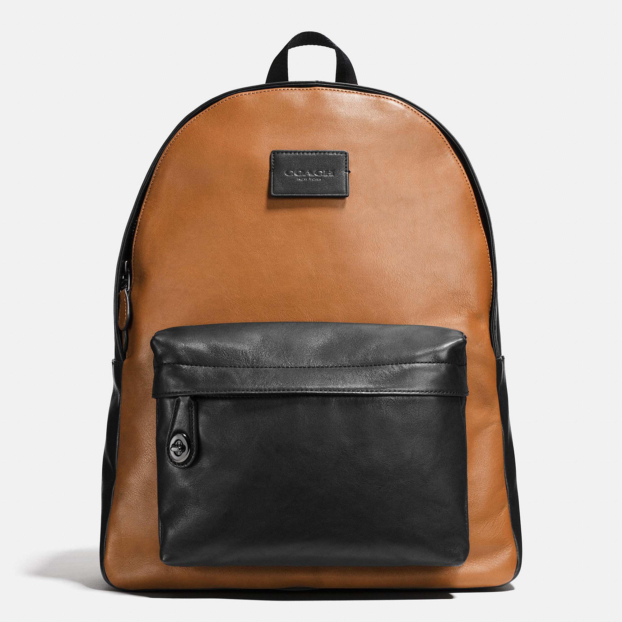 Lyst - Coach Campus Backpack In Sport Calf Leather in ...
