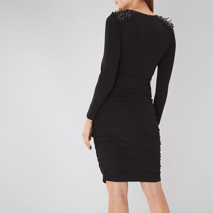 cf277762bcc0 Coast - Black Shea Embellished Dress - Lyst. View fullscreen