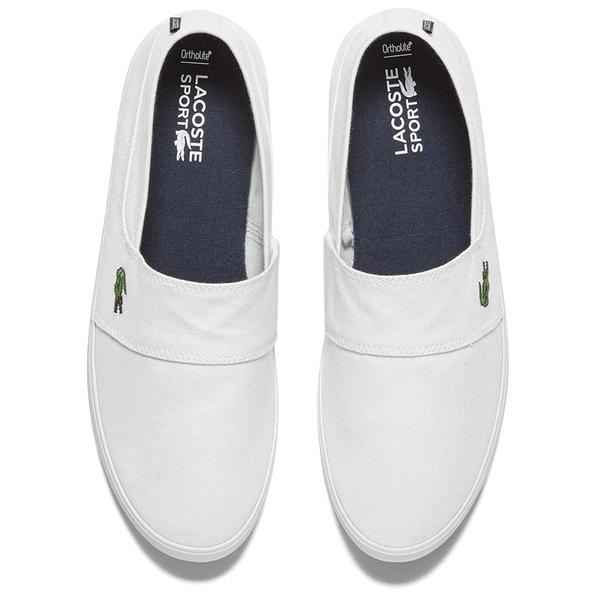575bc8772 Lacoste Men s Marice Lcr Spm Plimsols in White for Men - Lyst