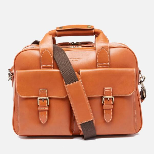 Aspinal Menu0026#39;s Harrison Overnight Business Bag In Brown For Men | Lyst