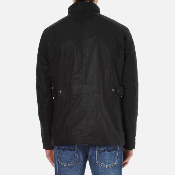 Lyst Barbour Men S Crank Wax Jacket In Black For Men