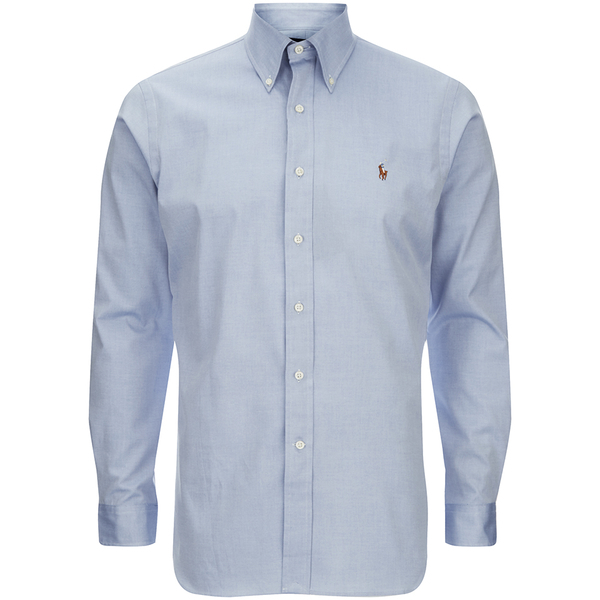 Polo Ralph Lauren Men 39 S Custom Fit Button Down Pinpoint