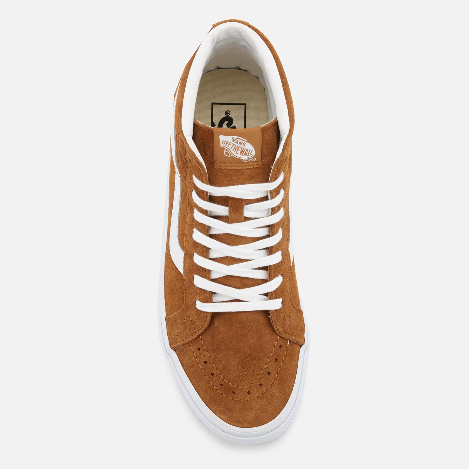 52c59e4ec6 Lyst - Vans Sk8-hi Reissue Suede Trainers in Brown for Men
