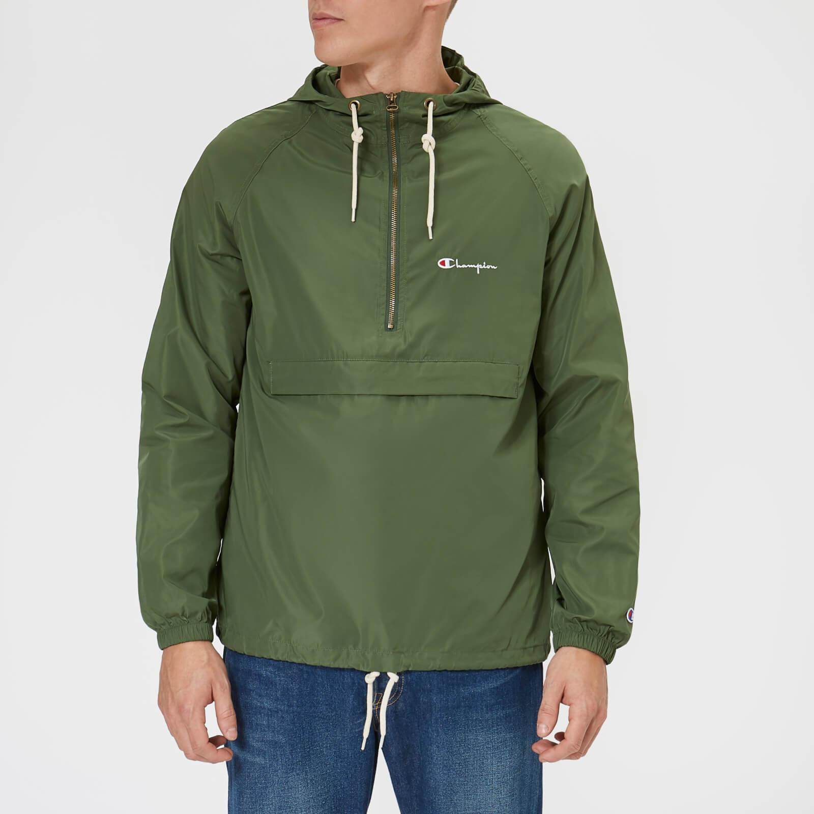 624b65bd1 Lyst - Champion Hooded Jacket in Green for Men