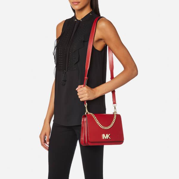 4d4ef49f5 MICHAEL Michael Kors Women's Mott Large Chain Swag Shoulder Bag in ...