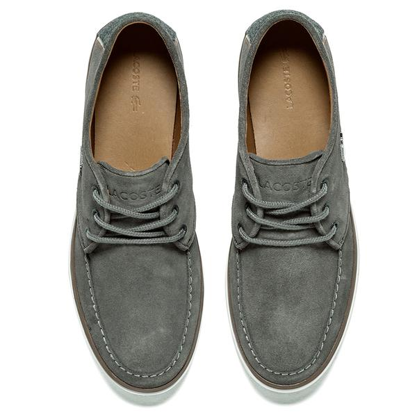 3f9620ef6222e0 Lyst - Lacoste Men s Sevrin 2 Lcr Suede Deck Shoes in Gray for Men