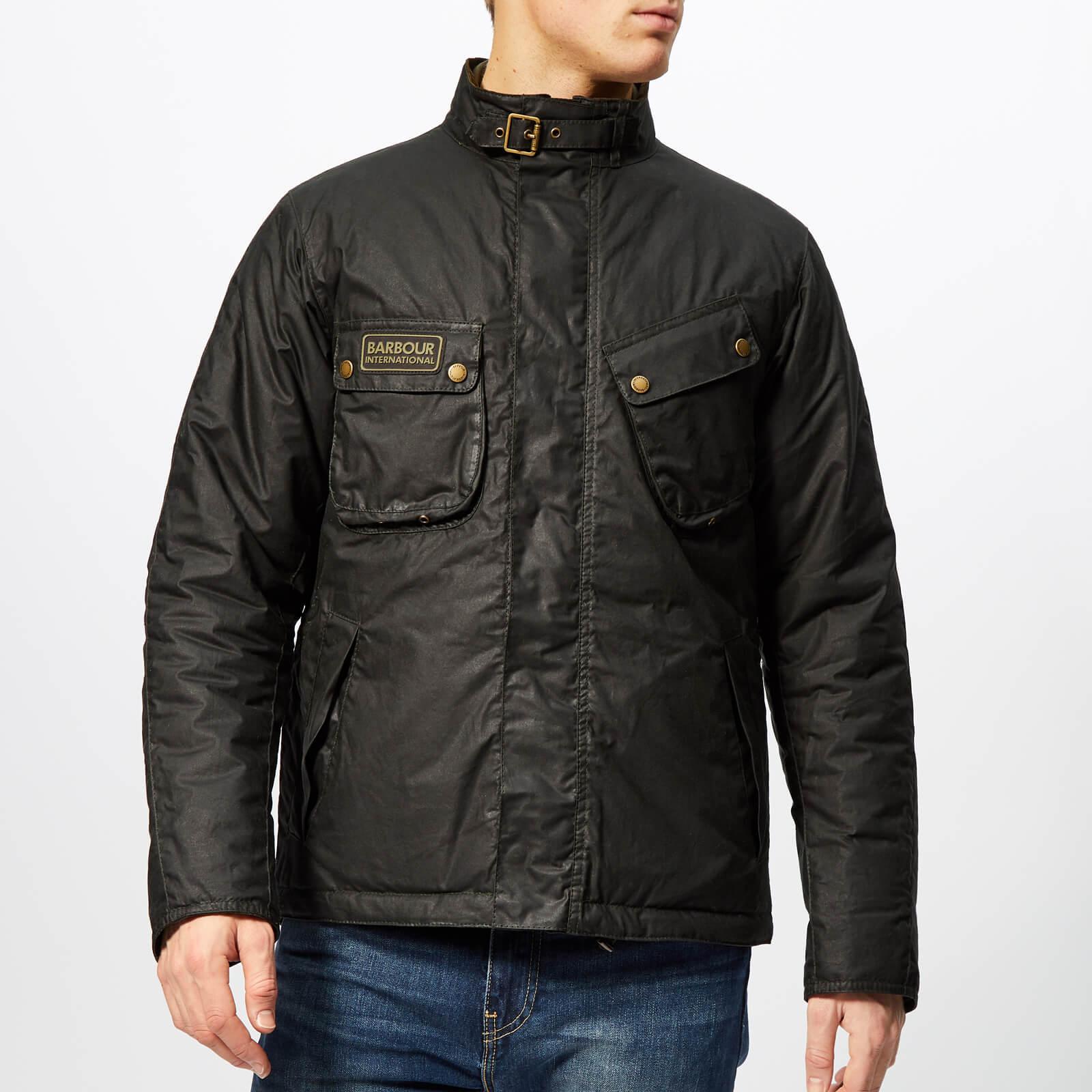 658340743d4 Lyst - Barbour Lever Wax Jacket in Green for Men