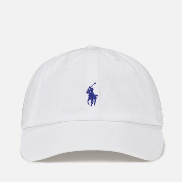 c30c567a2c5 Polo Ralph Lauren Logo Baseball Cap in White for Men - Save ...