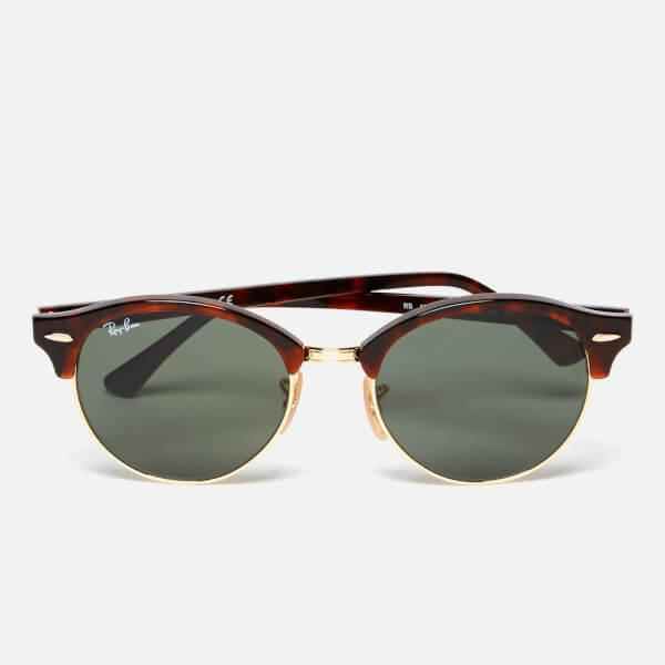 Ray-Ban Rayban Clubround Flat Lenses Half Metal Frame Sunglasses in ...