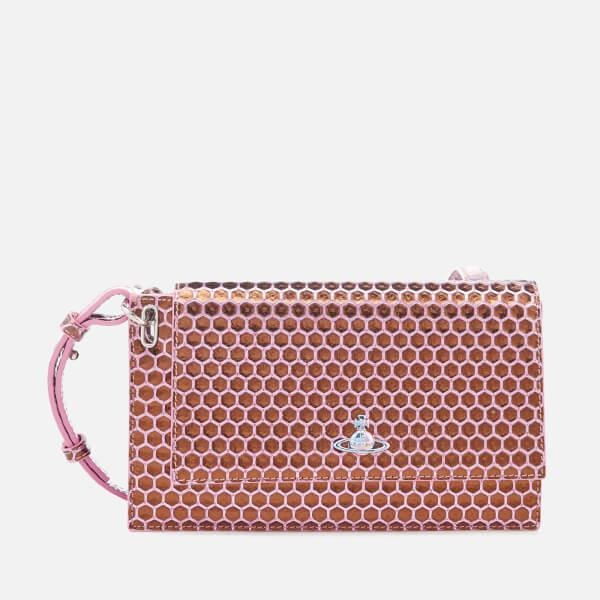 Pink Veronica Large clutch bag Vivienne Westwood