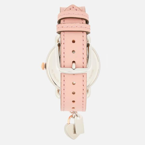 Coach Women S Delancey Charm Watch In Pink Lyst