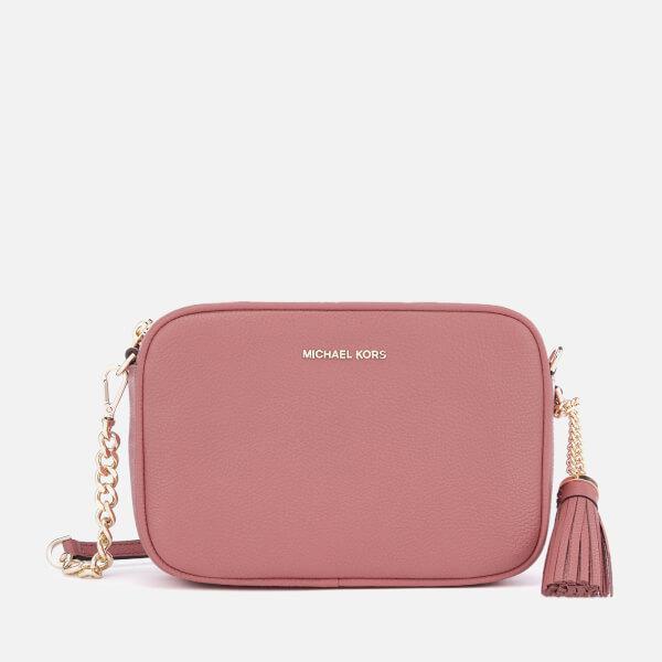 3919d7986724c Michael Michael Kors Women s Ginny Medium Camera Bag in Pink - Lyst