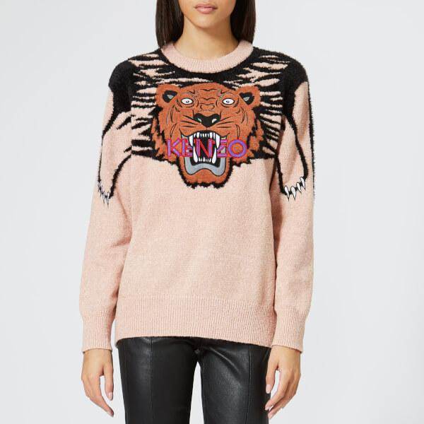 d7bc75895f Lyst - KENZO Women's Claw Hairy Knit Jumper in Pink - Save 61%