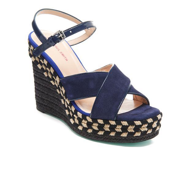PS by Paul Smith Raffia Heel Sandal - Multi Paul Smith SfFvPIr5Ir