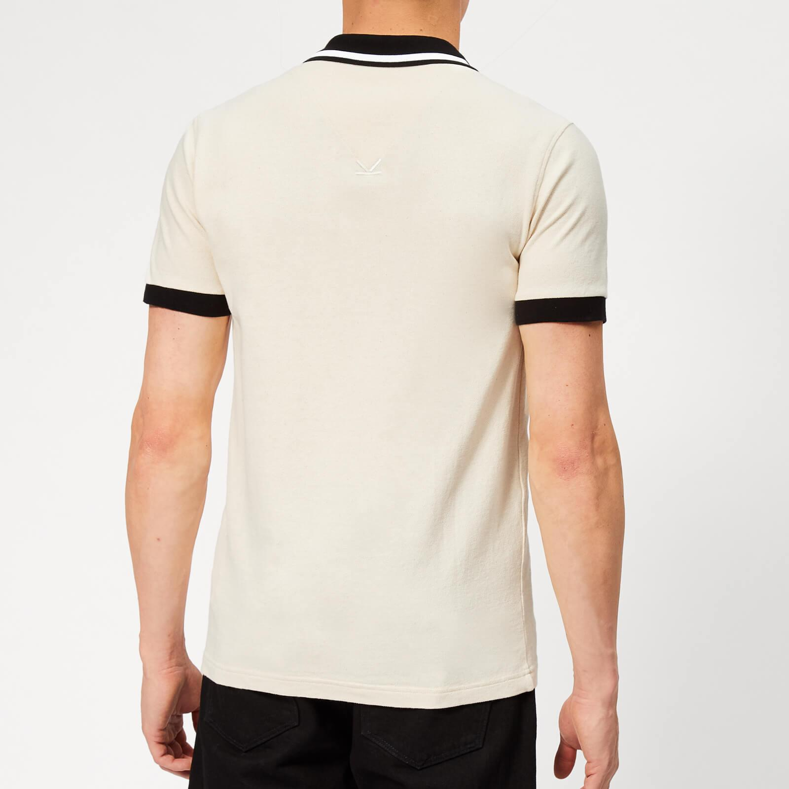 aa274a4e KENZO - Natural Beige Jumping Tiger Fitted Polo for Men - Lyst. View  fullscreen