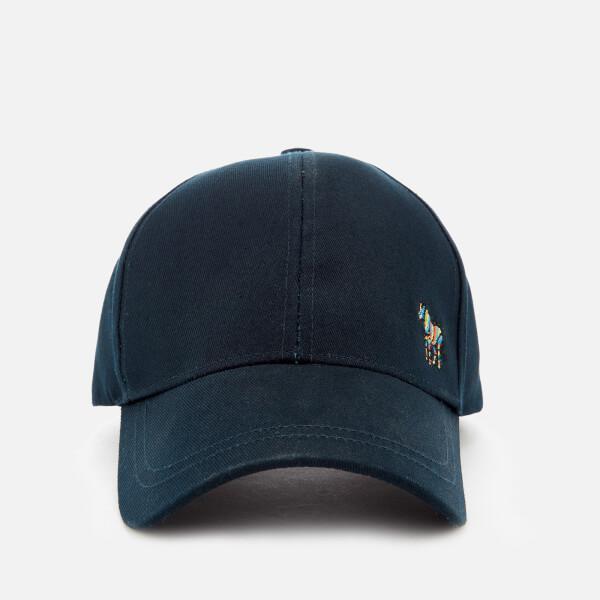 76b3dc8d37e Paul Smith Men s Zebra Cap in Blue for Men - Lyst