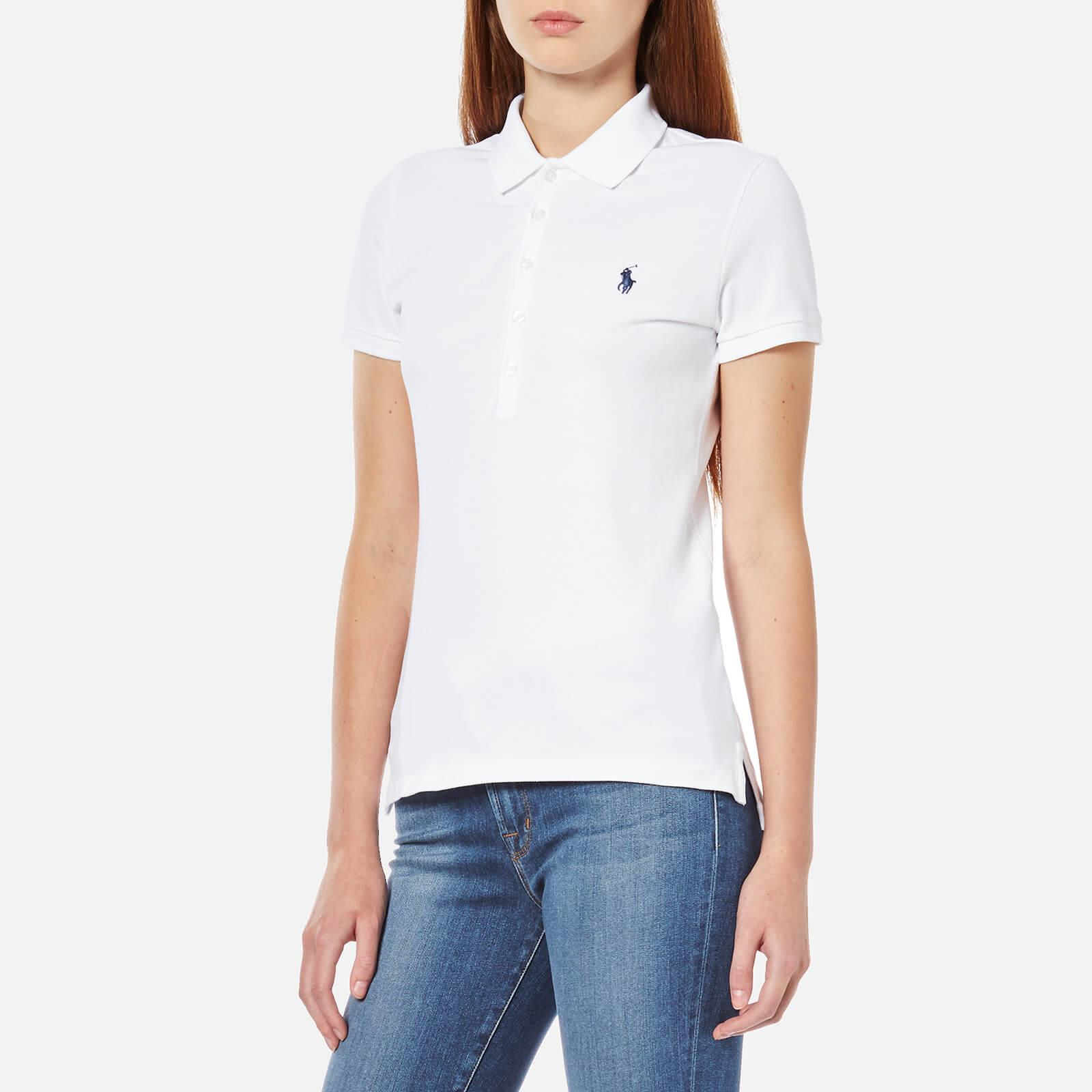 b163a1235 ... Ralph Lauren - White Julie Polo Shirt - Lyst. Visit Coggles. Tap to  visit site