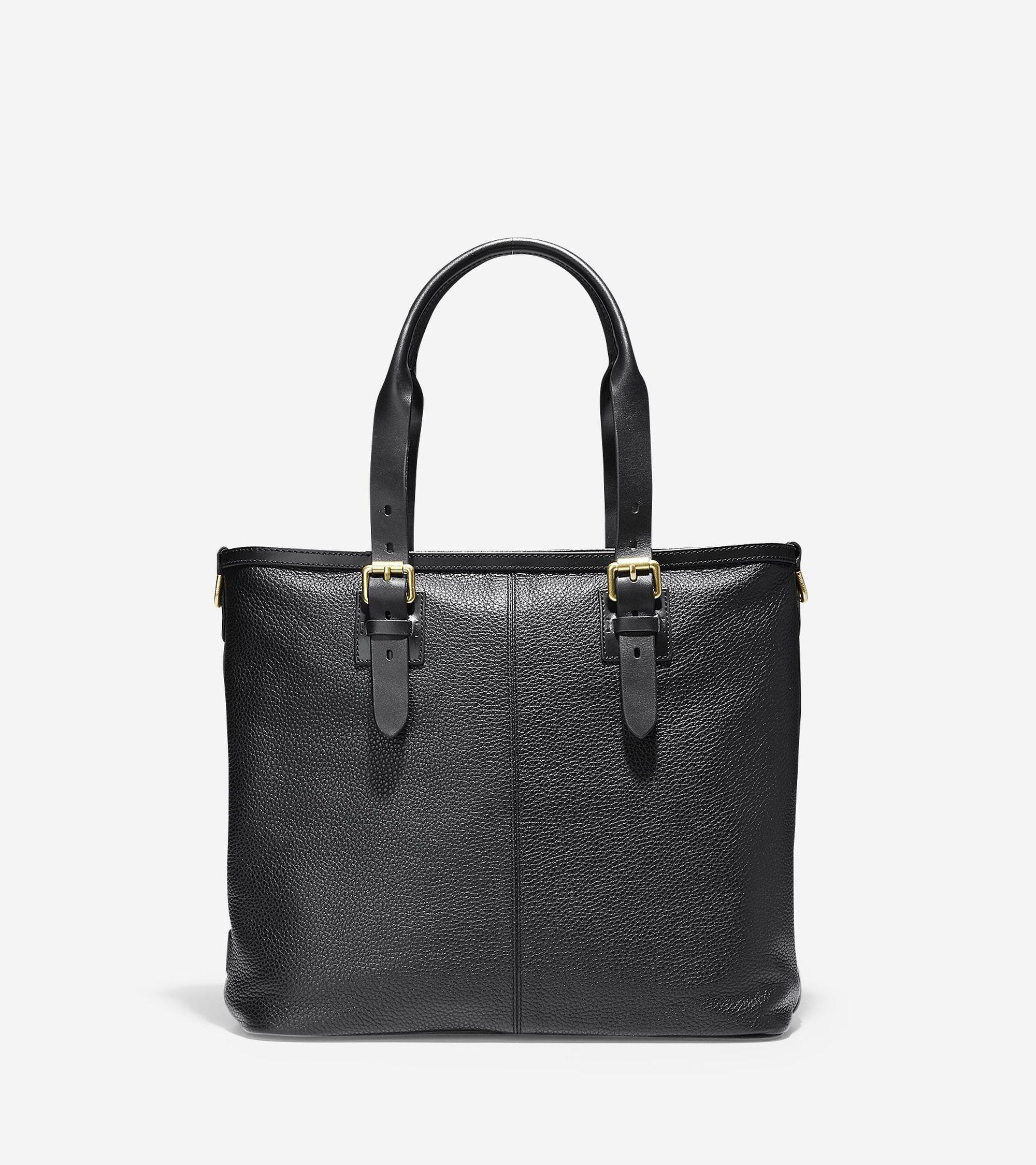 Lyst - Cole Haan Brayton Tote in Black for Men 920310e98195a