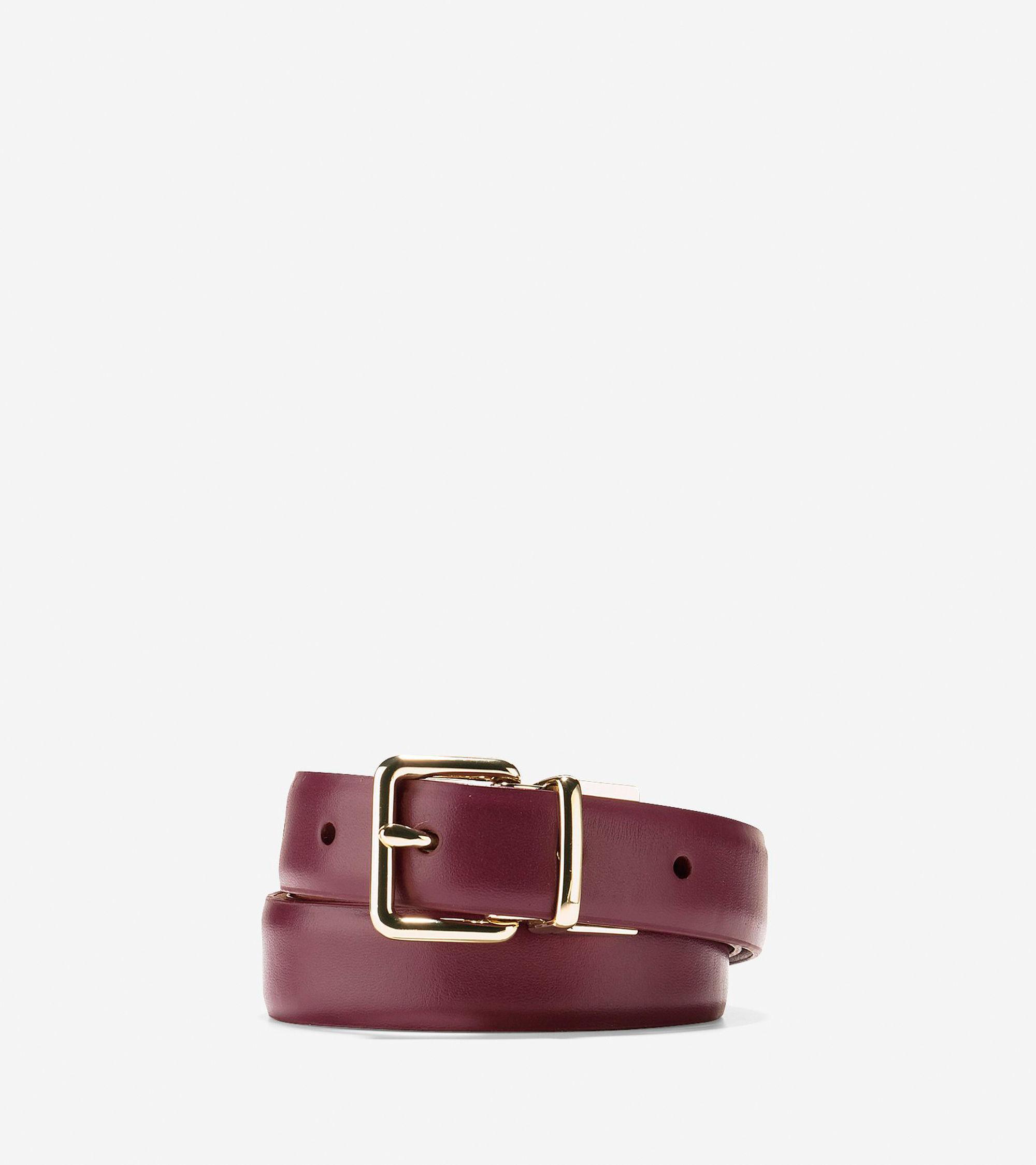 cole haan reversible dress leather belt lyst