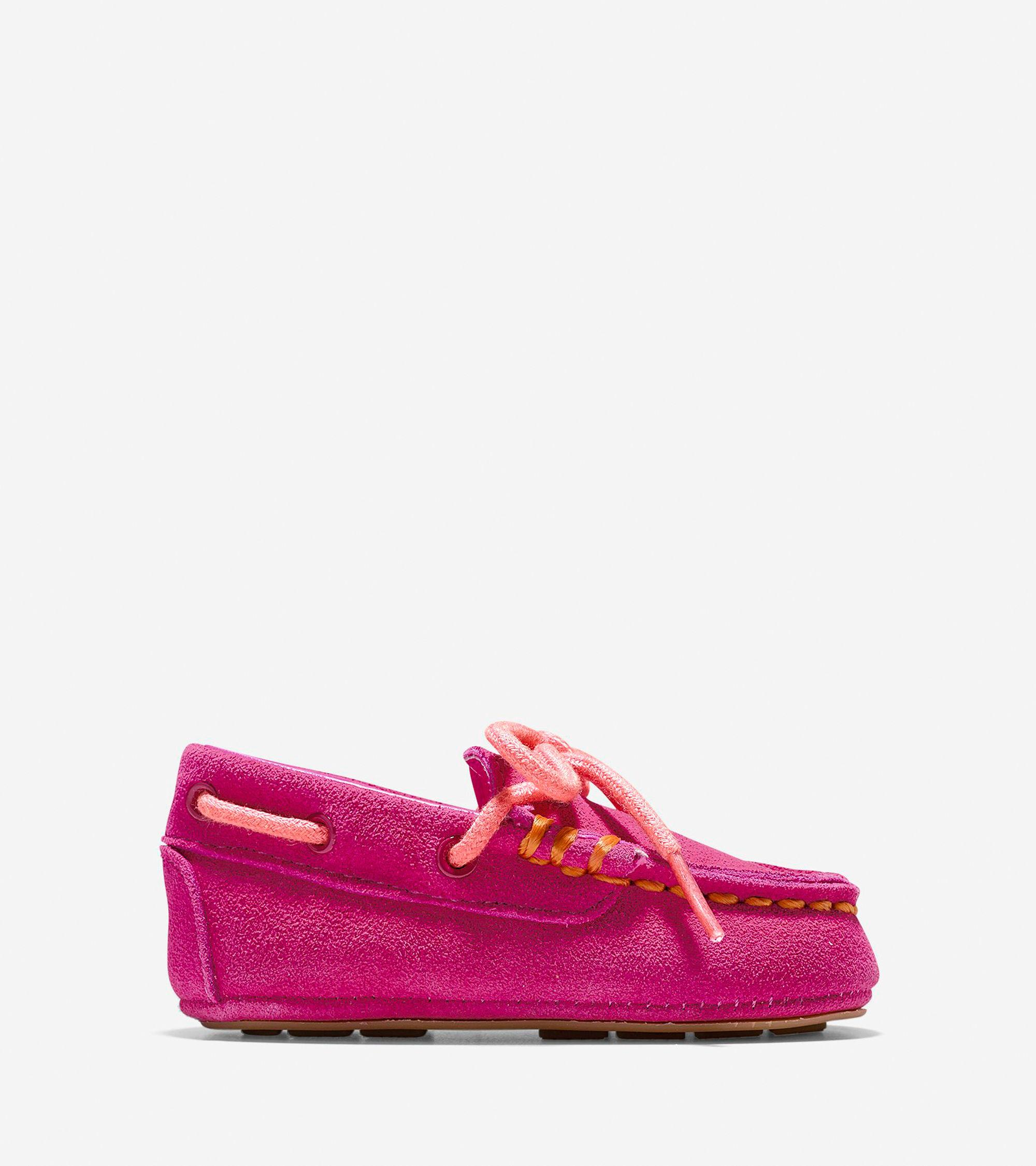 Cole haan Baby Grant Driver in Pink