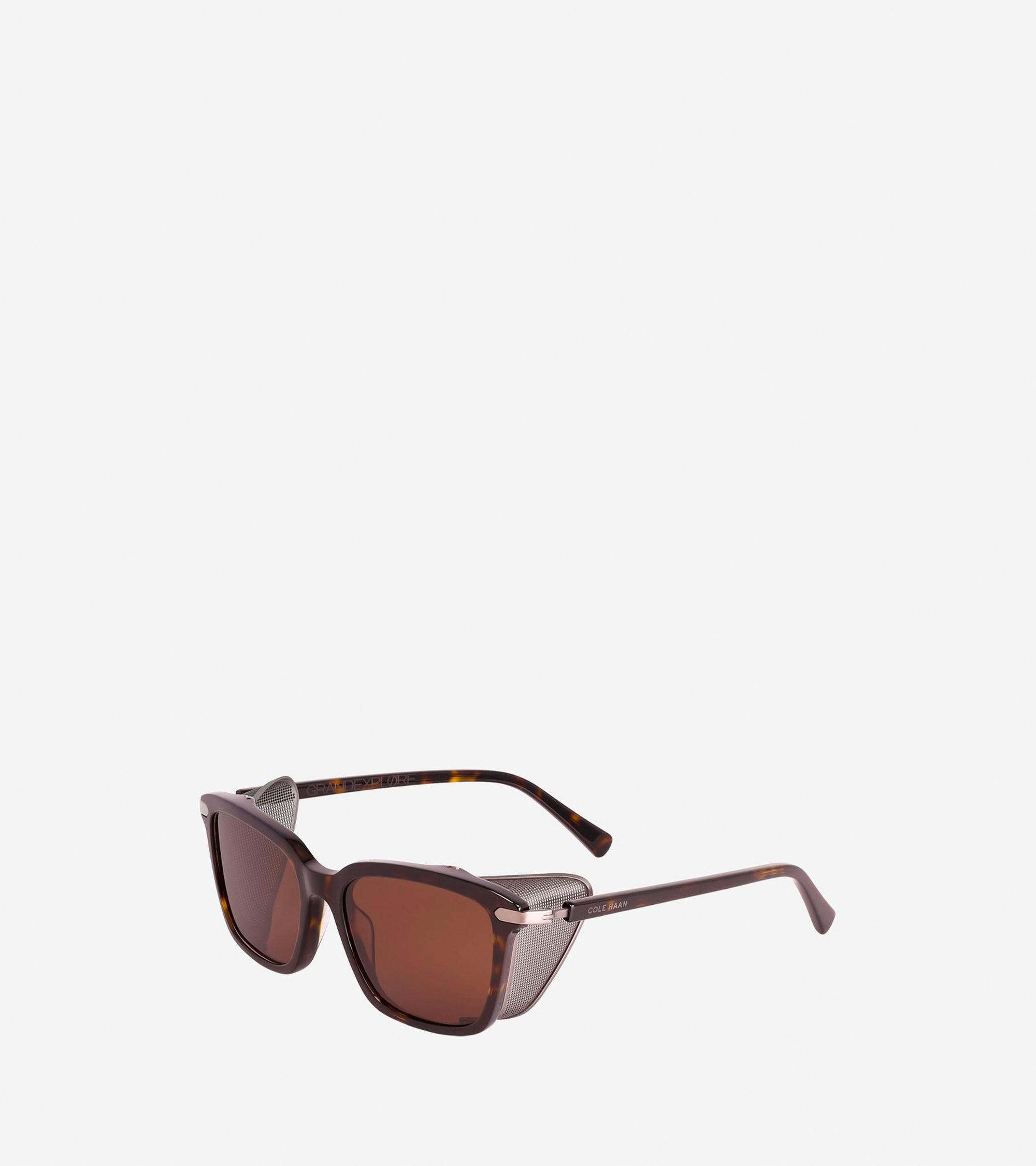 Lyst - Cole Haan Grandexpløre Glacier Frame Sunglasses in Brown for Men